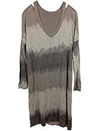 Jerseykleid incl. Unterkleid, 2-in-1, aus feinem Viskose/Stretch-Mix, MADE IN ITALY