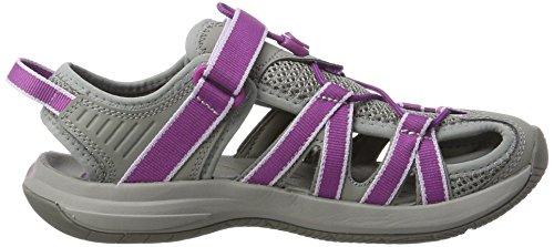 grey dark Gdpr Mehrfarbig Leichtathletikschuhe Purple W Rosa Teva Damen qxXSUzqB