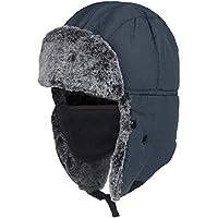 Kopfbekleidung Nash ZT Trapper Hat Wintermütze mit Kunstfell Mütze Angelmütze Ohrenmütze Angelsport