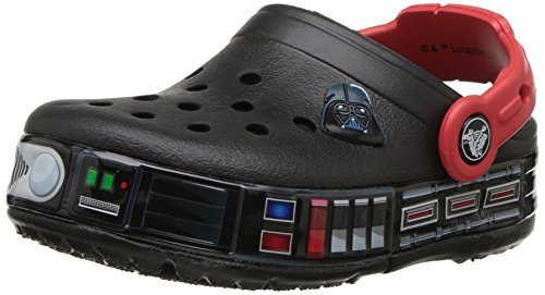 Crocs Crocband Fun Lab Darth Vader Lights Clog Kids, Jungen Clogs, Schwarz (Black), 30/31 EU