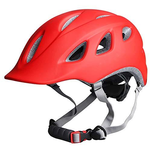 HTAA Fahrradhelm Stadt Fahrrad Männer und Frauen Reiten Sicherheit Einteilige Cross-Country-Hut (Color : D)