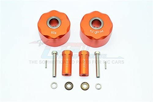 Axial SCX10 & SCX10 II Upgrade Upgrade Upgrade Pièces Aluminium Pendulum Wheel Knuckle Axle Weight  31mm Hex Adapter - 1Pr Set Orange | De Haute Sécurité  2fa8f8