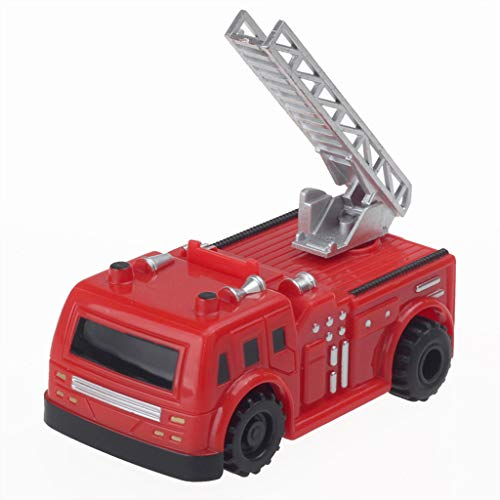 Upxiang Magic Inductive Truck [folgt der schwarzen Linie] Magic Toy Car Cross-Line Induktionstechnik Fahrzeug Mit dem Spielzeugauto für Kinder Geschenk (E)