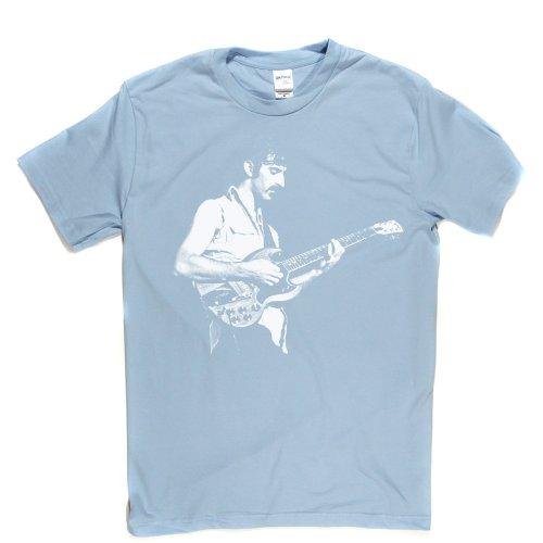 Frank Zappa Rock Guitar Star Icon Music Tee T-shirt Himmelblau