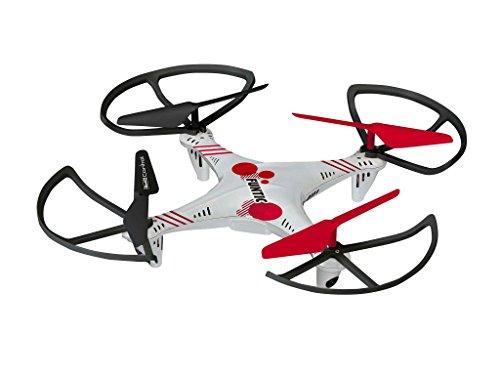 Revell Control RC Quadrocopter für Einsteiger, ferngesteuert mit 2,4 GHz Fernsteuerung, robust, Wechsel-Akku, Headless, Flip-Funktion, Geschwindigkeitsstufen, LED-Beleuchtung, Propellerschutz - 23937 - 4