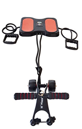 Mariya Decor Design AB Exerciser Wonder Wheels For ABS + ARMS + LEGS (3 in 1) - Design & Model Is Protected Under Copy Right Act