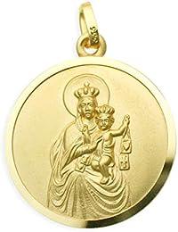 Maria Kettenanhänger Anhänger Kleiner Marienanhänger Gold 333 Goldanhänger Hl