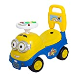 FunBlast Minion Baby Ride Car; Race Kids Ride On Push Car for Toddlers
