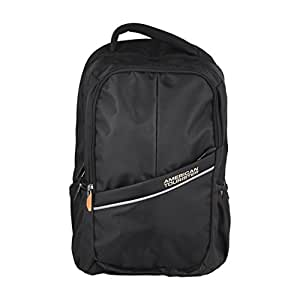 American Tourister 35Litres Polyester Black Backpack Citi-Pro Cto6