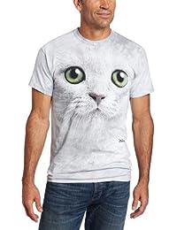 The Mountain Men's Green Eyes Face T-Shirt