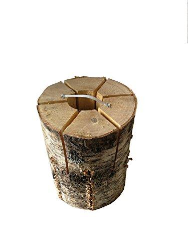 *2 Party Baumfackeln Schwedenfeuer inkl. Anzünder, Finnenfackel, Gartenfackel für Frühling, Sommer und Winter Art. 384*