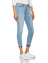 Calvin Klein Jeans Mr Skinny Twisted Ankle-Unusual Blue, Jeans Femme