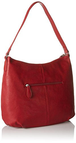 Betty Barclay Damen Bb-1010-Ll Schultertasche, 12x32x36 cm Rot (Red)