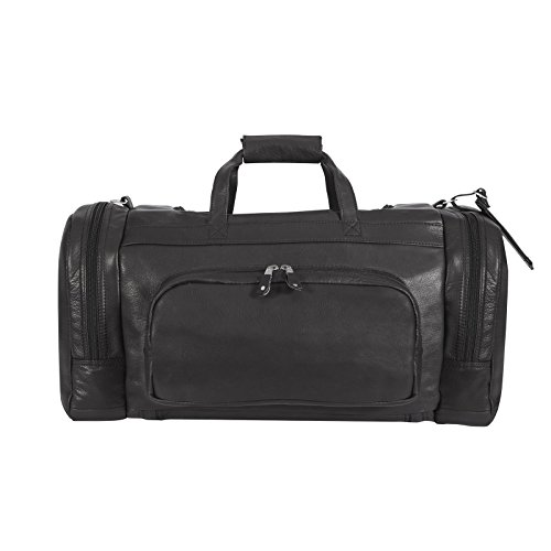 canyon-outback-corral-canyon-22-inch-leather-duffel-backpack-black-one-size