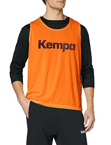 FanSport24 Kempa Wende-Markierungsleibchen, orange/grün Größe M/L