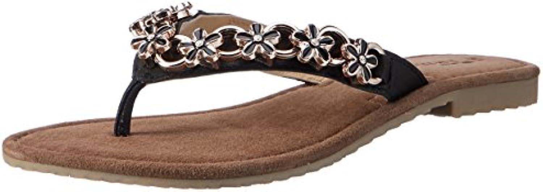 27116 tamaris femmes femmes femmes & eacute; chaussure et botte toe gardes, noir, 6 royaume - uni 264559