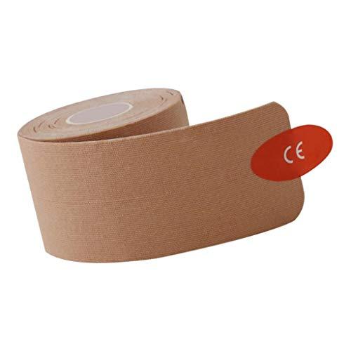 SM SunniMix Kinesiologie Tape Physiotape Kinesiotape Tapeverband Elastische Bandage Sporttape - Hautfarbe, Y