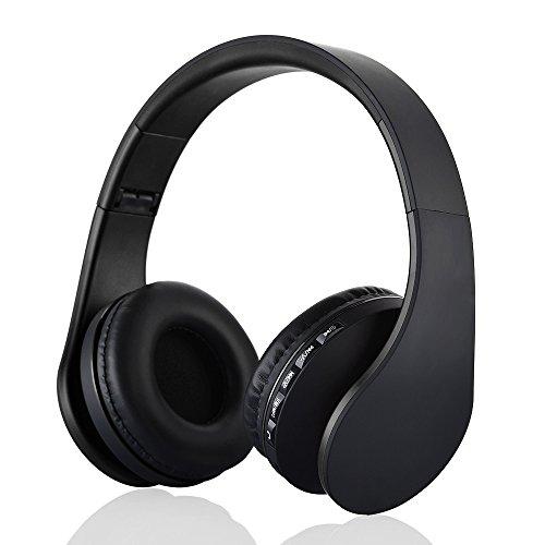 ktleu Cuffie Wireless 5 in 1 pieghevole Headset con TF Mp3 player fm radio  via cavo ad130c467fde