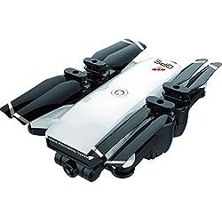 HKFV- YH-19G Drone GPS WiFi FPV 1080P Caméra Grand Angle Maintien de l'altitude 2.4G Télécommandé 1800mah Batterie Pliable Selfie Drone pour Débutants et Enfants
