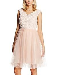 Lindy Bop Damen Kleid Anais, Parfait Pink, 32-50