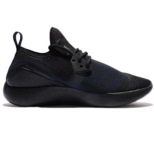 Nike Men's Lunarcharge Essential Ankle-High Fabric Running Shoe Schwarz