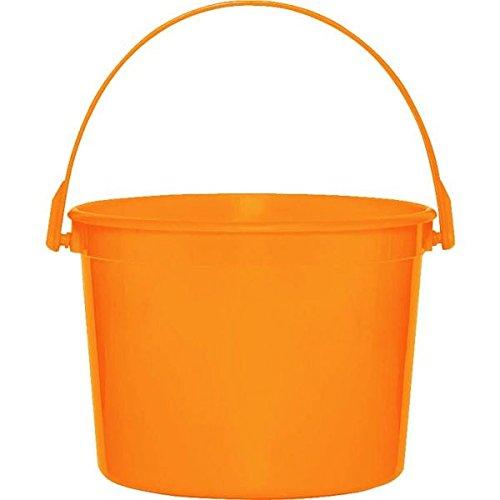amscan Kunststoff-Eimer, Orange