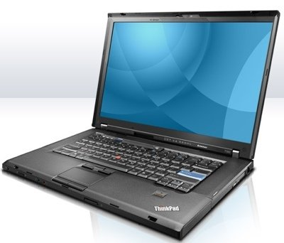 Lenovo ThinkPad T500 Intel Core 2 Duo P8400 2,26 GHz 2 GB 160 GB Windows 7 Professional Originale tedesco (QWERTZ)