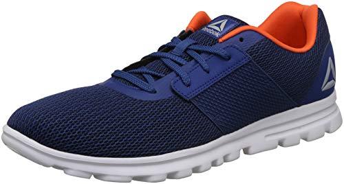 Reebok Men's City Runner Lp Bunker Blue/Bright Lava Running Shoes - 6 UK/India (39 EU)(7 US)(CN8171)