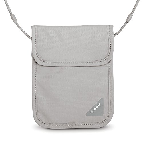 Pacsafe Coversafe X Brustbeutel, 18 cm, Grey, 10148103