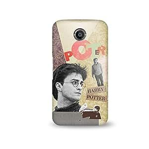 Warner Bros Harry Potter Face Back Cover for Google Nexus 6 (Multicolor)