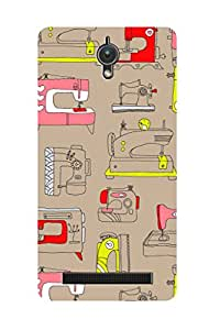 ZAPCASE PRINTED BACK COVER FOR ASUS ZENFONE C - Multicolor