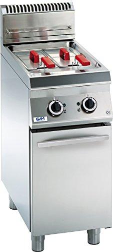 Gam Gastro Doppel Friteuse Elektroanschluss 40 Cm Breit 2x8 Liter L Neu