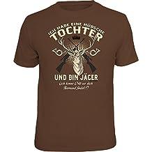 Original RAHMENLOS® T-Shirt für den besorgten Vater: Ich habe eine hübsche Tochter….