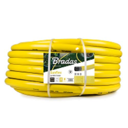 Bradas WMS11/425 1 1/4 Zoll Wasserschlauch, 25 m, Sunflex, Gelb, 40x40x14 cm