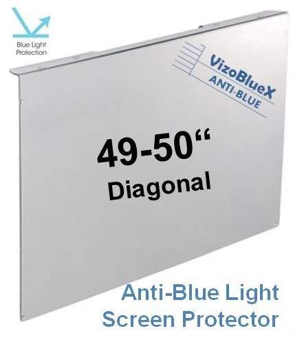 49-50 Zoll VizoBlueX Anti-Blaulicht TV-Bildschirmschutz und Schadenschutz Panel - Blöcke UV-und Blaulicht von 380 bis 480 NM. Passend für LCD, HDTV, Monitore und Displays Hdtv Lcd-monitor