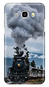 RIE Printed Designer Hard Back Cover for Samsung Galaxy J7 2016 / J7-16 - Matte Finish
