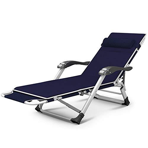 MLX 15-Fach Klappliege, Klappbett Mit Armlehne Massage Roller Einzelbett Büro Mittagspause Klappbarer Stuhl Im Freien