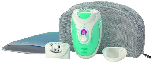 Braun Silk-épil X'elle Easy Start Body System 5280, Depilatore, Blu