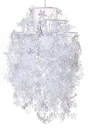 Lampadario modello primavera colore bianco for Lampadario amazon