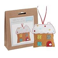 Trimits Felt Christmas Decoration Kit: Gingerbread House, Assorted, One Size