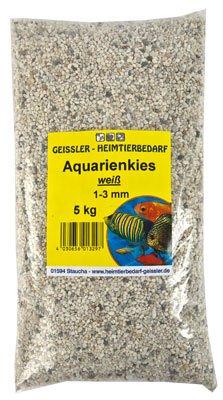 Aquarienkies weiss 1-3mm 5 kg, Aquariumkies
