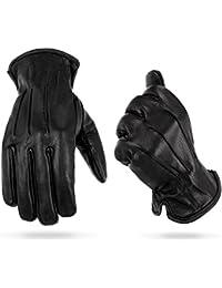 1par de guantes Kevlar con protección anticortes en diferentes tamaños, negro, extra-large