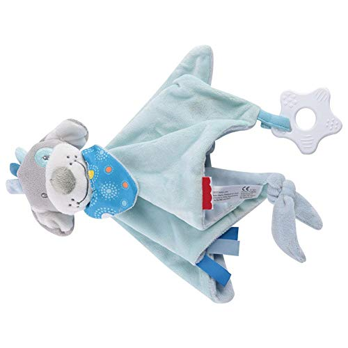 Schmusetuch Junge,Weiche Hautfreundliche Kinder Komfort Spielzeug Mit BeißRing Kinder Sicherheitsdecke, Baby Tag Geeignet FüR Kind und Baby zu Spielen(#3)