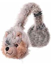 Inware - Ohrwärmer für Kinder, warm und kuschelig, Motiv: Tiere