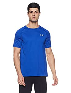 Under Armour Men's Tech Short-Sleeve T-Shirt, Blue (Royal White), X-Small