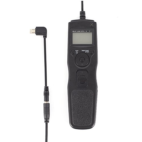 Fotga Timer Auslöser Fernbedienung + Removable Fernauslöser Cord Kable für Sony A7R2 A7S A7M A63000 A7 A7 A7S A7M2 NEX-3N A6000 A5000 A3000 A58 RX100II RX100M2 RX100M3 HX50 HX60 HX400 HX300