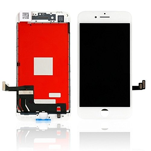 LCD Display 4.7 Zoll kompatibel mit iPhone 8 Komplett Einheit Touch Panel (weiß) - Panel-display-einheit