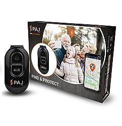 PAJ GPS Easy Finder GPS Tracker Kinder ca. 5 Tage Akkulaufzeit (bis zu 10 Tage im Standby-Modus) Live Ortung Mini GPS Tracker - inklusive Ausschaltsicherung