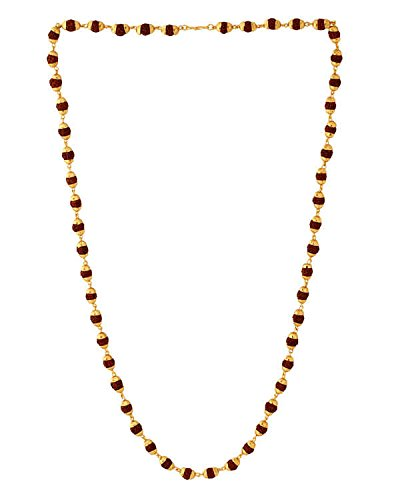 People Will stare make it worth there while with this awesome Rudraksh necklace