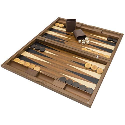 Dal Negro The Oxford Deluxe Backgammon Set